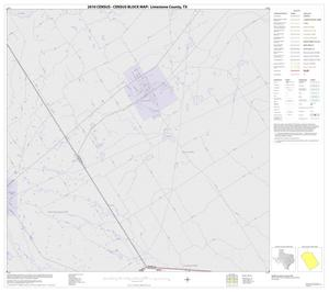 Primary view of object titled '2010 Census County Block Map: Limestone County, Block 1'.