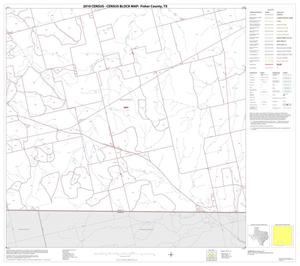 Primary view of object titled '2010 Census County Block Map: Fisher County, Block 14'.