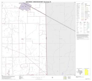 Primary view of object titled '2010 Census County Block Map: Clay County, Block 23'.