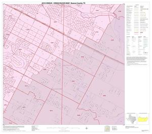 Primary view of object titled '2010 Census County Block Map: Nueces County, Inset B08'.