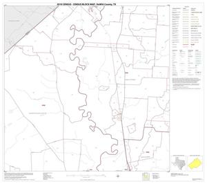 Primary view of object titled '2010 Census County Block Map: DeWitt County, Block 4'.