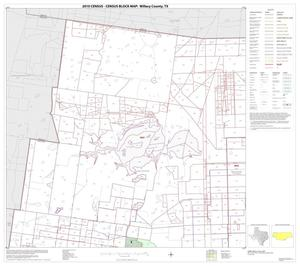 Primary view of object titled '2010 Census County Block Map: Willacy County, Block 1'.