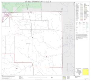 Primary view of object titled '2010 Census County Block Map: Archer County, Block 4'.