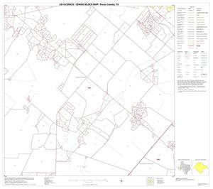Primary view of object titled '2010 Census County Block Map: Pecos County, Block 9'.