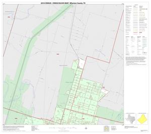 Primary view of object titled '2010 Census County Block Map: Wharton County, Inset B01'.