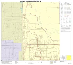 Primary view of object titled '2010 Census County Block Map: Dallas County, Block 37'.