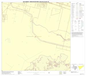 Primary view of object titled '2010 Census County Block Map: Galveston County, Block 40'.