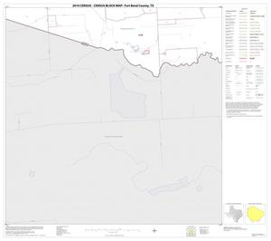 Primary view of object titled '2010 Census County Block Map: Fort Bend County, Block 72'.