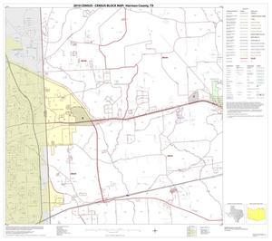 Primary view of object titled '2010 Census County Block Map: Harrison County, Block 11'.