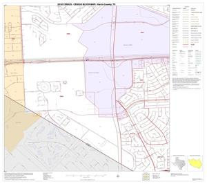Primary view of object titled '2010 Census County Block Map: Harris County, Block 189'.