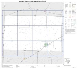 Primary view of object titled '2010 Census County Block Map: Deaf Smith County, Index'.
