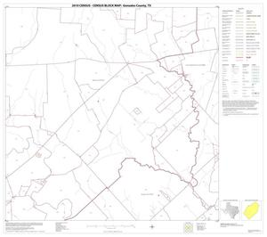 Primary view of object titled '2010 Census County Block Map: Gonzales County, Block 14'.