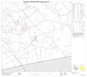Primary view of object titled '2010 Census County Block Map: Anderson County, Block 23'.