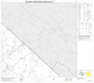 Primary view of object titled '2010 Census County Block Map: Caldwell County, Block 6'.