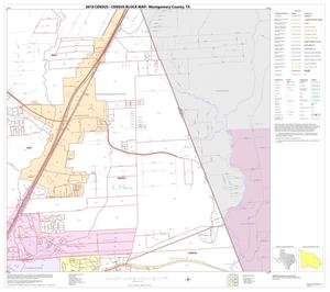 Primary view of object titled '2010 Census County Block Map: Montgomery County, Block 33'.