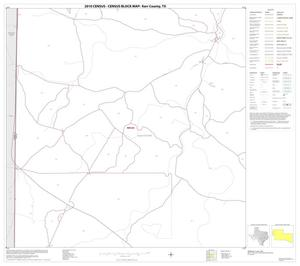 Primary view of object titled '2010 Census County Block Map: Kerr County, Block 6'.