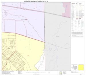 Primary view of object titled '2010 Census County Block Map: Dallas County, Block 45'.