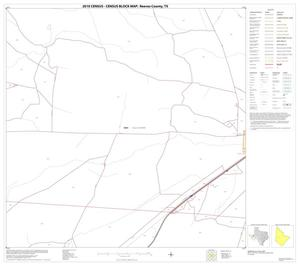 Primary view of object titled '2010 Census County Block Map: Reeves County, Block 22'.
