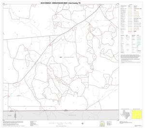 Primary view of object titled '2010 Census County Block Map: Irion County, Block 11'.