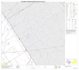 Primary view of object titled '2010 Census County Block Map: McLennan County, Block 8'.