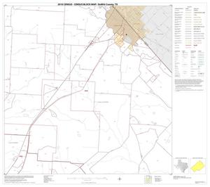 Primary view of object titled '2010 Census County Block Map: DeWitt County, Block 5'.