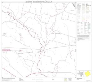 Primary view of object titled '2010 Census County Block Map: Coryell County, Block 13'.