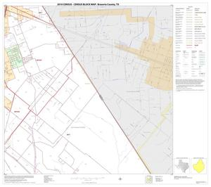 Primary view of object titled '2010 Census County Block Map: Brazoria County, Block 12'.