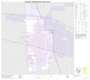 Primary view of object titled '2010 Census County Block Map: Waller County, Inset B01'.