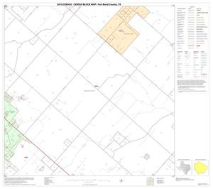 Primary view of object titled '2010 Census County Block Map: Fort Bend County, Block 57'.