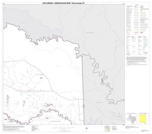 Primary view of object titled '2010 Census County Block Map: Titus County, Block 3'.