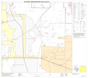 Primary view of object titled '2010 Census County Block Map: Denton County, Block 37'.