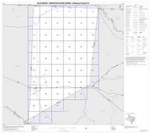 Primary view of object titled '2010 Census County Block Map: Culberson County, Index'.