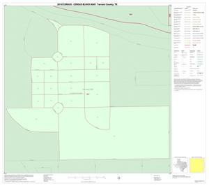 Primary view of object titled '2010 Census County Block Map: Tarrant County, Inset I01'.