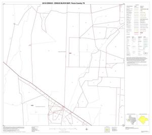 Primary view of object titled '2010 Census County Block Map: Pecos County, Block 14'.