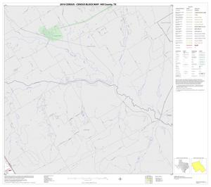 Primary view of object titled '2010 Census County Block Map: Hill County, Block 3'.