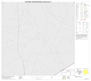 Primary view of object titled '2010 Census County Block Map: Coryell County, Block 4'.