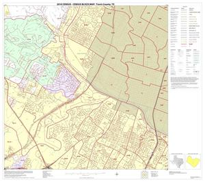 Primary view of object titled '2010 Census County Block Map: Travis County, Block 34'.