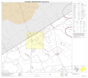 Primary view of object titled '2010 Census County Block Map: Falls County, Block 4'.