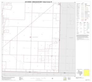 Primary view of object titled '2010 Census County Block Map: Yoakum County, Block 9'.