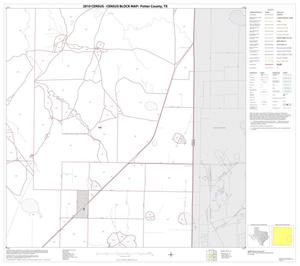 Primary view of object titled '2010 Census County Block Map: Potter County, Block 12'.