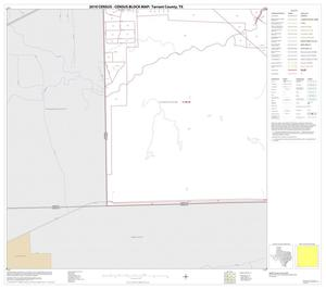 Primary view of object titled '2010 Census County Block Map: Tarrant County, Block 57'.