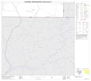 Primary view of object titled '2010 Census County Block Map: Crockett County, Block 34'.