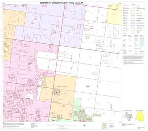 Primary view of object titled '2010 Census County Block Map: Hidalgo County, Block 89'.