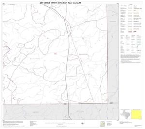 Primary view of object titled '2010 Census County Block Map: Mason County, Block 16'.