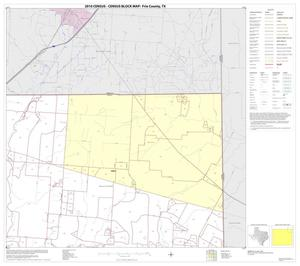 Primary view of object titled '2010 Census County Block Map: Frio County, Block 4'.