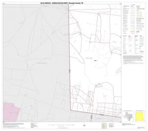 Primary view of object titled '2010 Census County Block Map: Kenedy County, Block 21'.