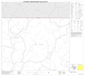 Primary view of object titled '2010 Census County Block Map: Kinney County, Block 2'.