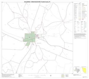 Primary view of object titled '2010 Census County Block Map: Presidio County, Block 23'.