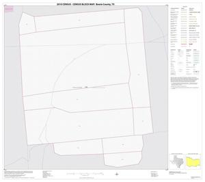 Primary view of object titled '2010 Census County Block Map: Bowie County, Inset E01'.