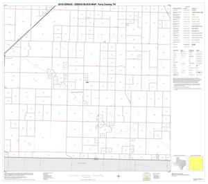 Primary view of object titled '2010 Census County Block Map: Terry County, Block 8'.
